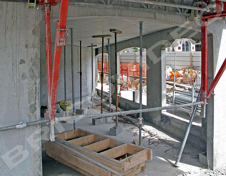 etayage chantier