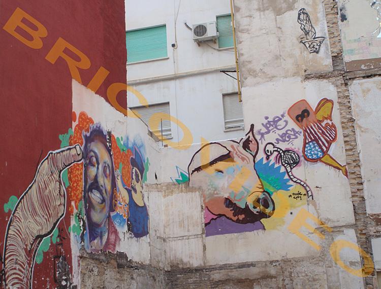 murs tagues