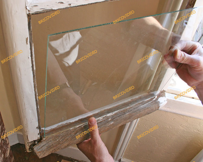 installer vitre fenetre