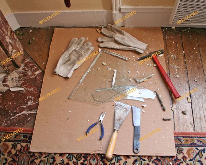 outils remplacement vitre