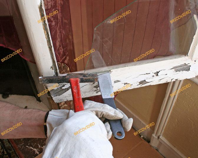 remplacer carreau casse vitre carreau cass