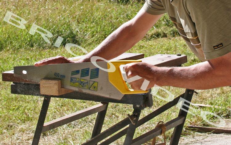 Comment couper des marches d 39 escalier en angle sur un ban de scie question menuiserie - Couper plinthe angle sortant ...