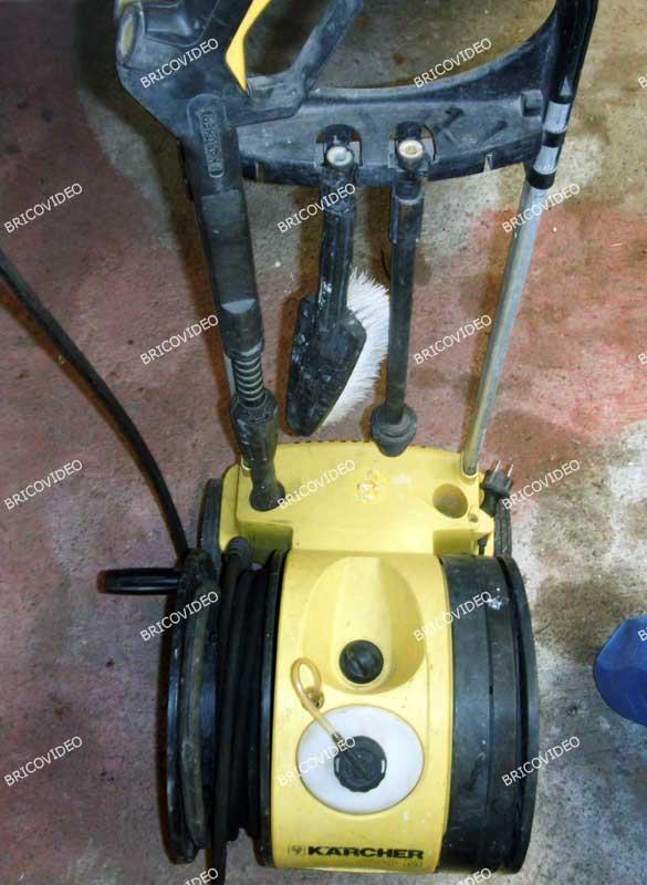 Nettoyeur haute pression qui ne demarre plus - Comment demonter un karcher ...
