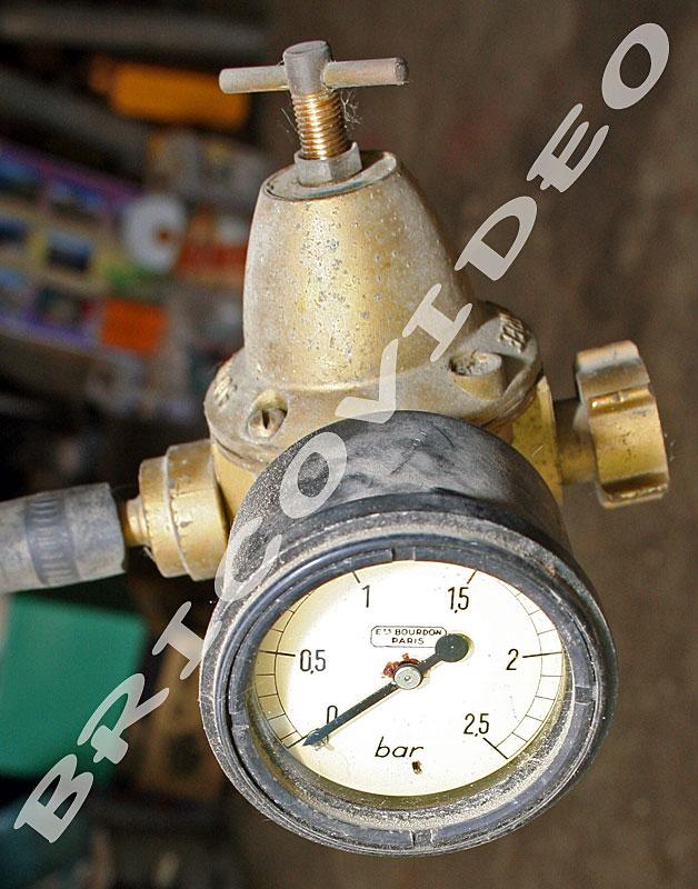 detendeur gaz manom