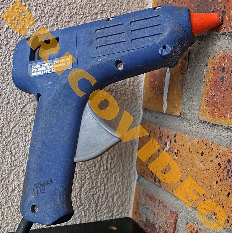 pistolet a colle electrique bricolage pistolets