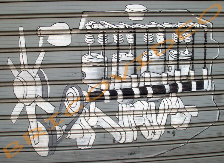 fresque rideau de fer