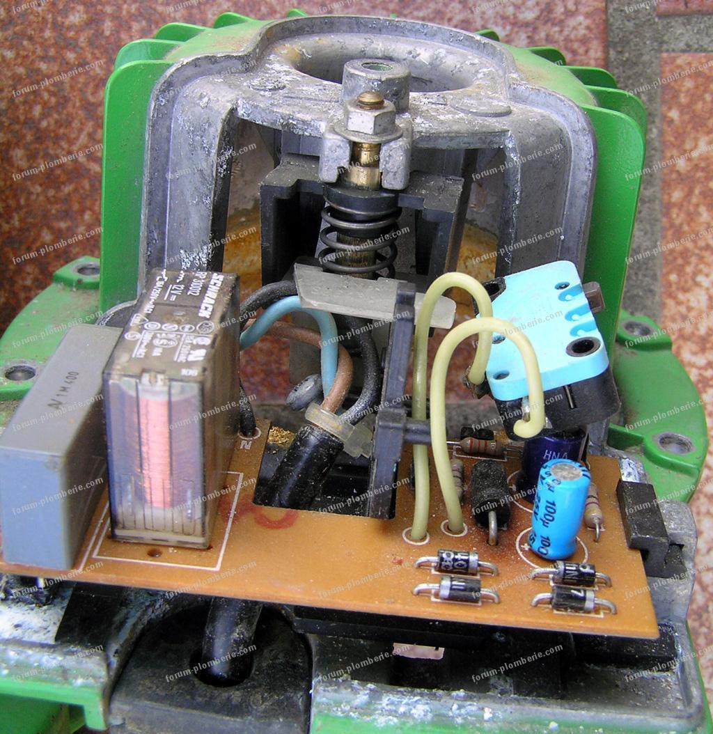 branchement electrique pompe a eau 3