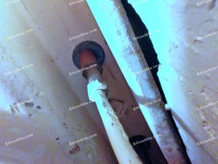 bricovideo demontage vieux robinet evier