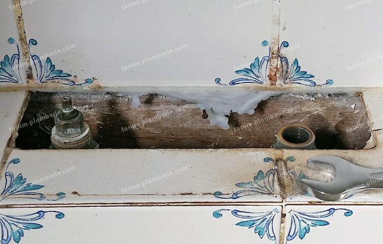 bricovideo identification tete robinet baignoire