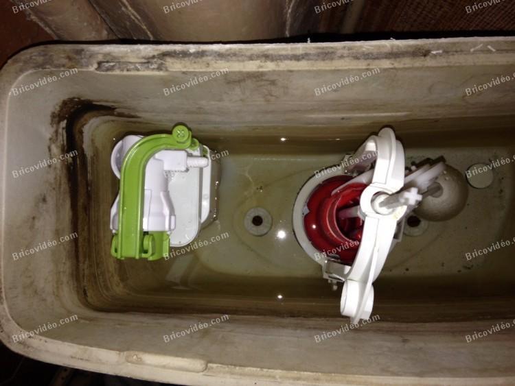 bricovideo remplacer robinet flotteur chasse d eau
