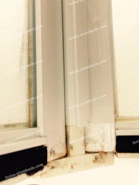 charniere basse cote interieur cabine de douche