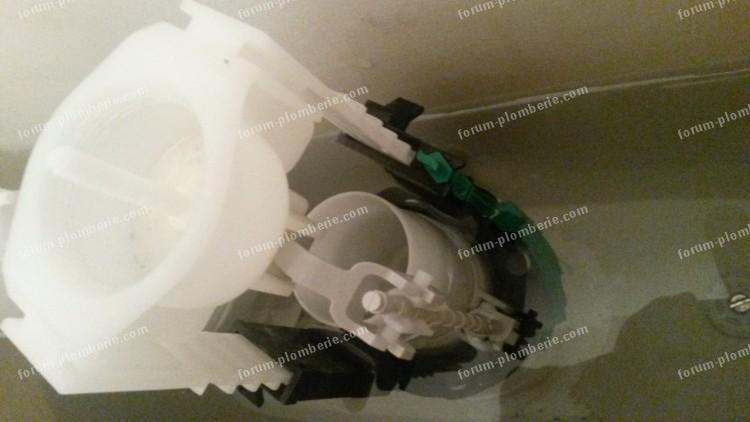 demontage mecanisme de chasse d eau allia