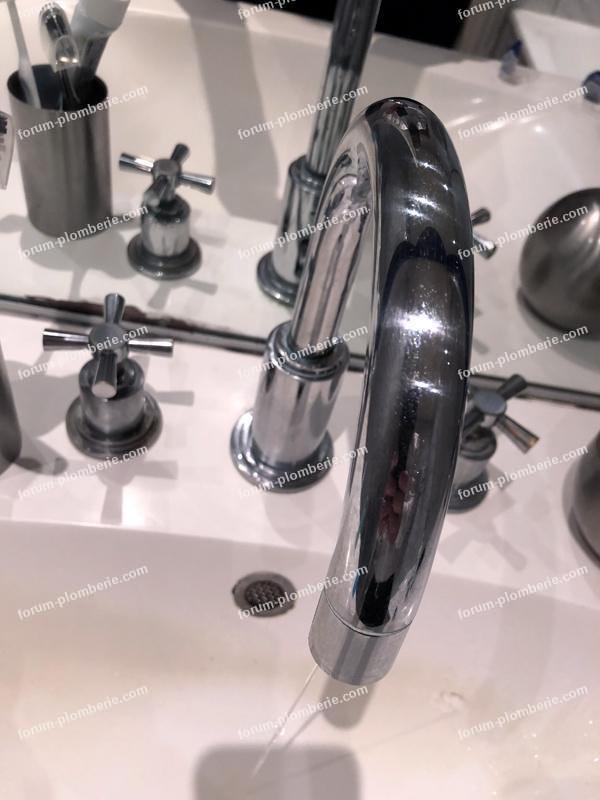 demontage tete ceramique robinet