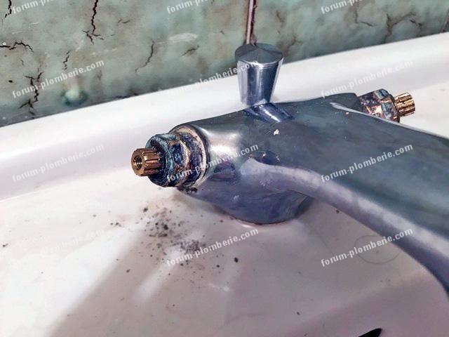 demonter vieux robinet de salle de bain jacob delafon
