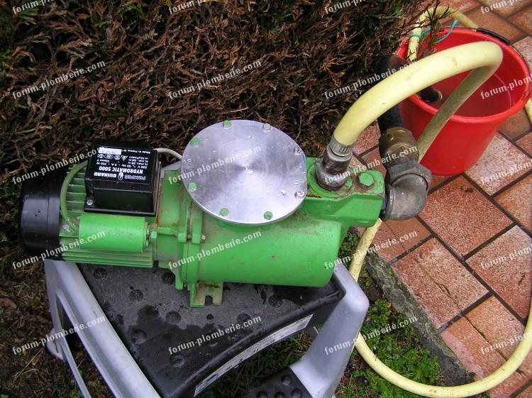 depannage pompe a eau suite