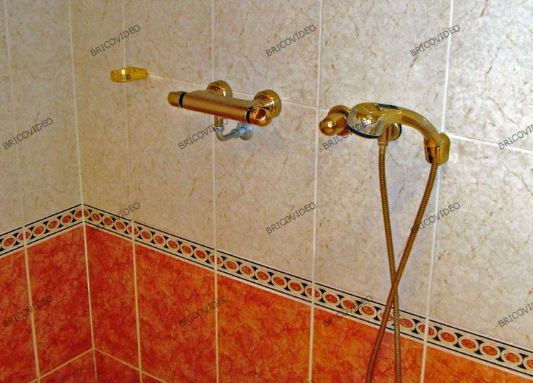 douche italienne plomberie