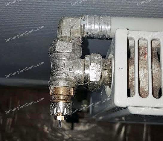 fermer un radiateur chauffage collectif bricovideo