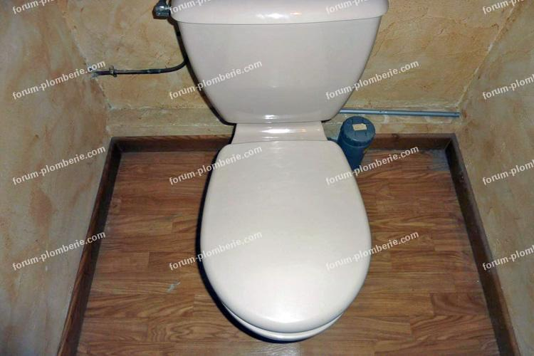 installation evacuation wc