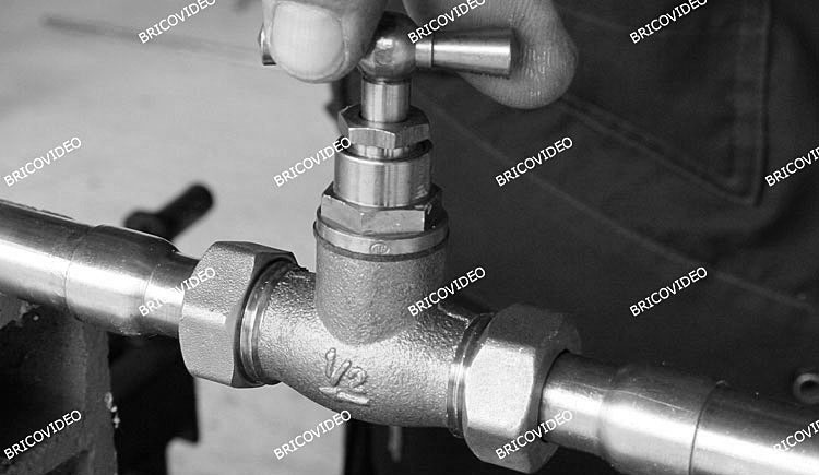 installation robinet d arret