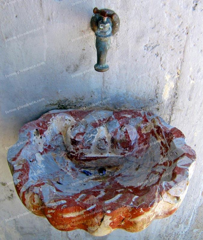 lave mains en marbre