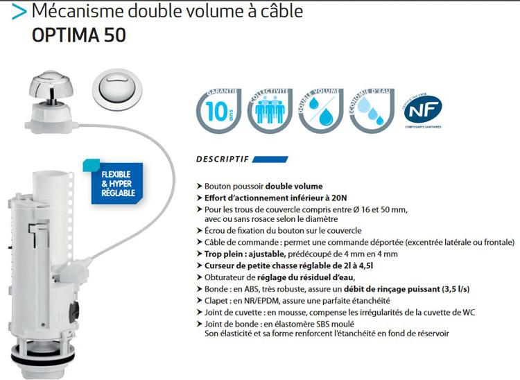 mecanisme reservoir wc kit adaptable 01