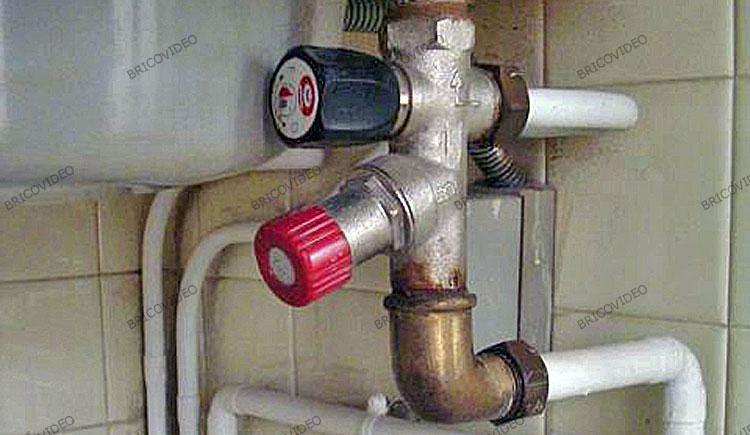 plomberie chauffe eau groupe de securite