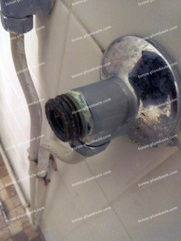 plomberie fuite robinet de douche 4