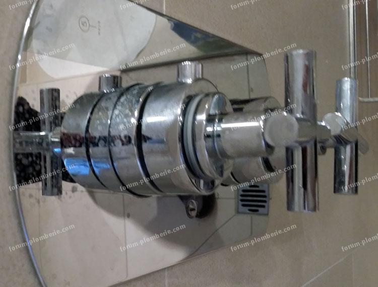 plomberie probleme robinet de douche bricovideo