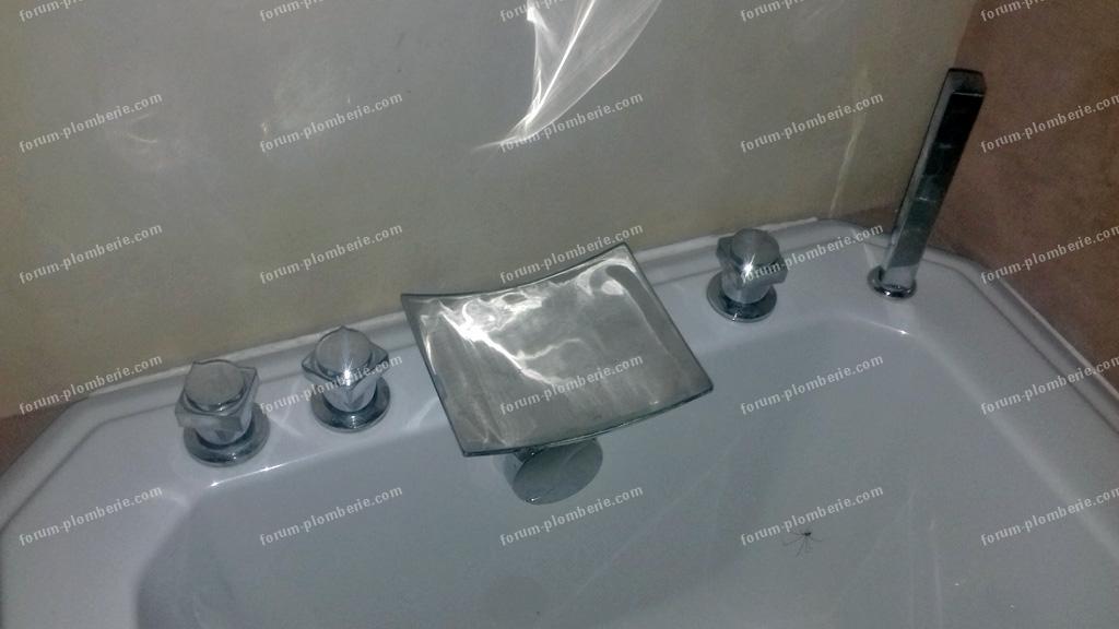 poignee de commande robinet