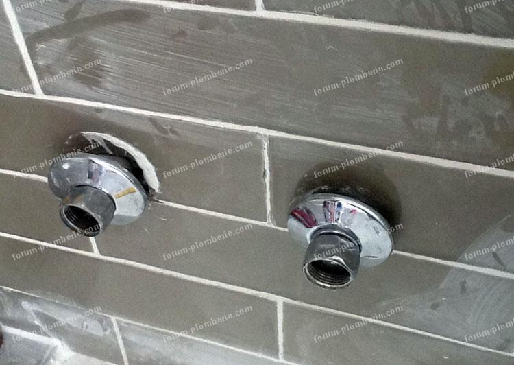 probleme demontage mitigeur douche