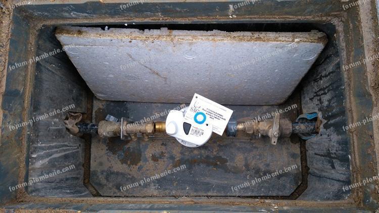 raccorder compteur d eau partie privee
