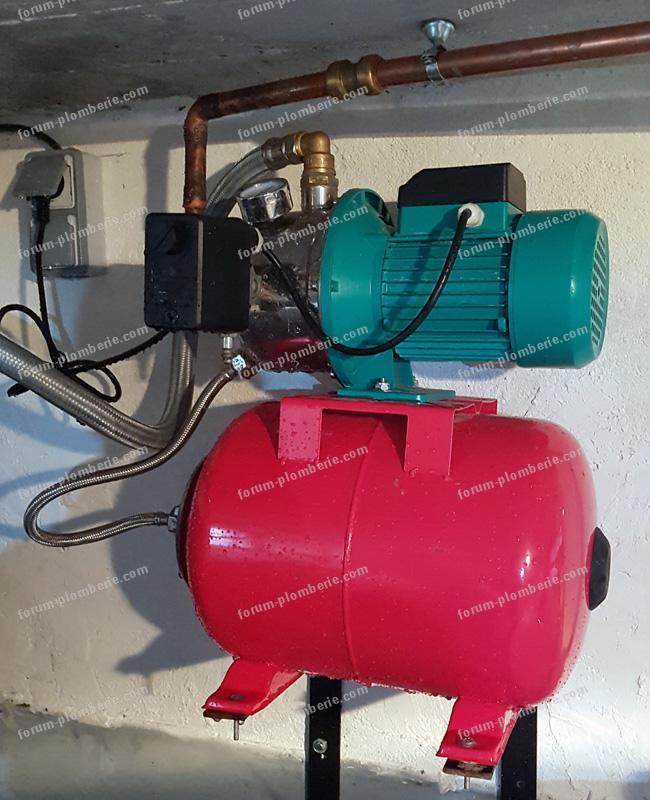 reamorcer pompe a eau
