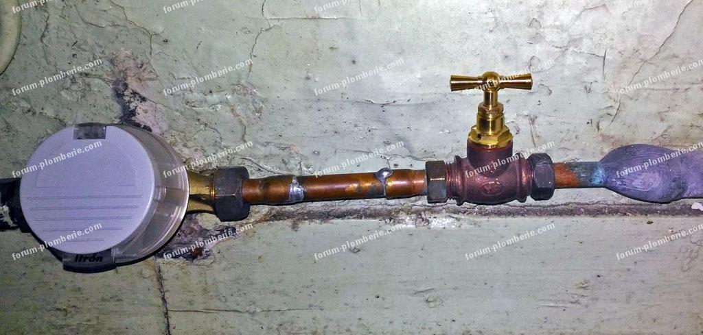 remplacement tete de robinet