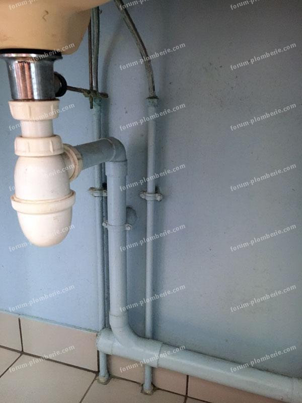 remplacer lavabo par un lave linge bricovideo 03