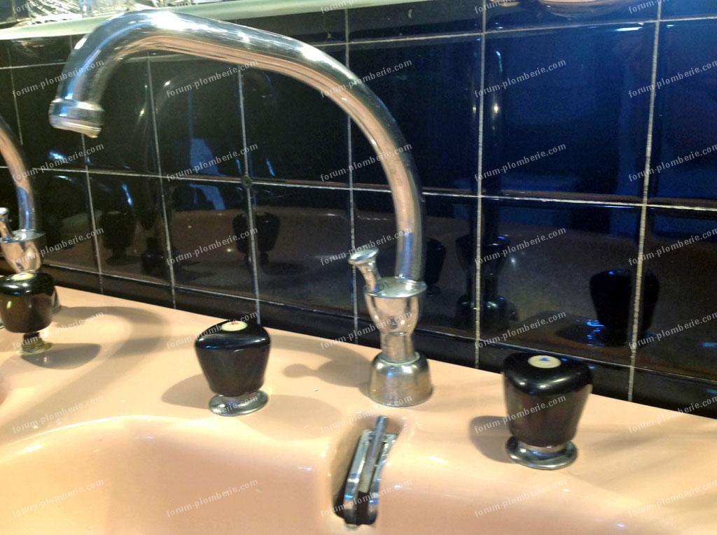 remplacer robinetdouchette par melangeur 02