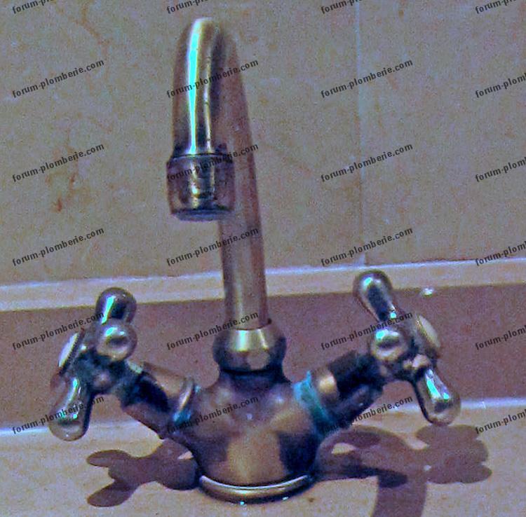 reparation robinet ancien