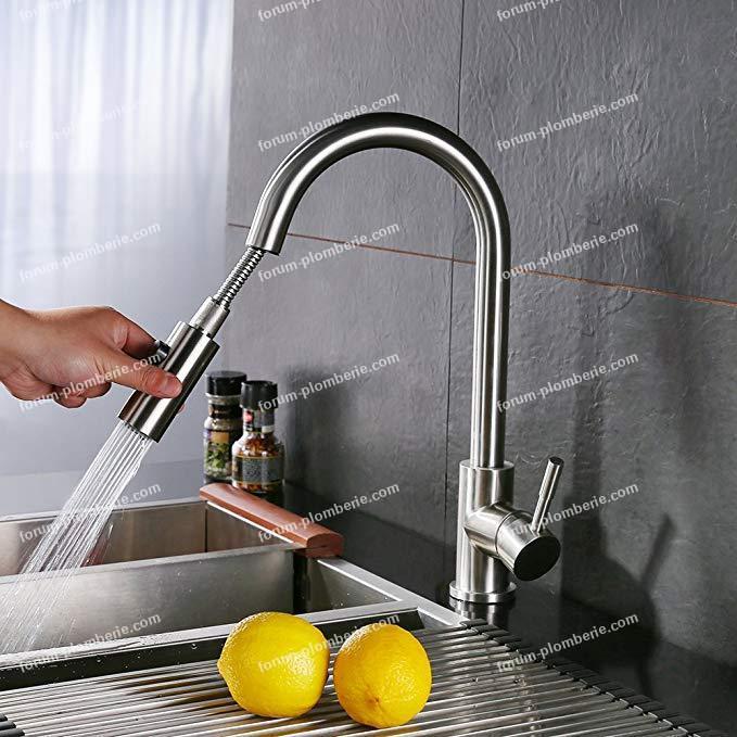 robinet de cuisine bec pivotant bricovideo