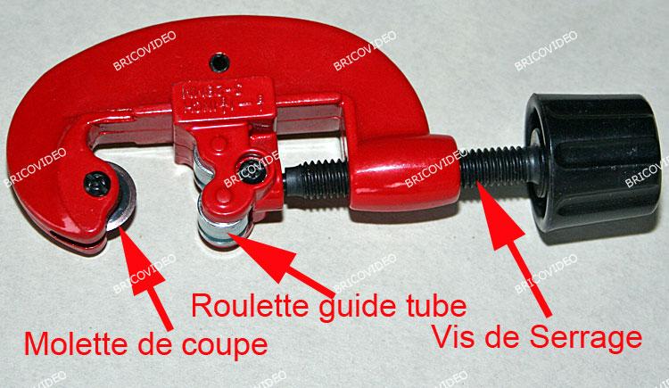 utiliser coupe tube cuivre plomberie