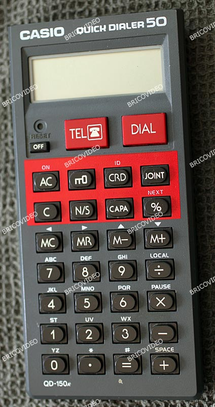 casio quick dialer 50