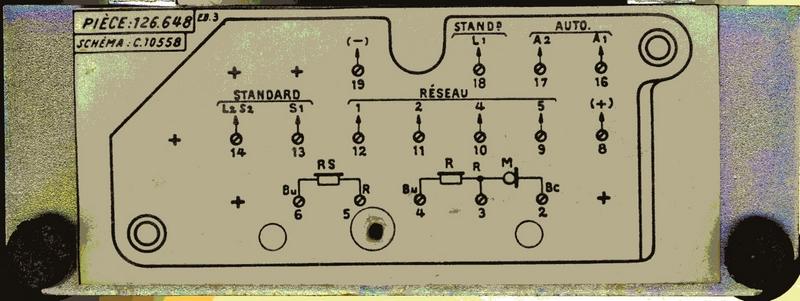 schema telephone annees 50