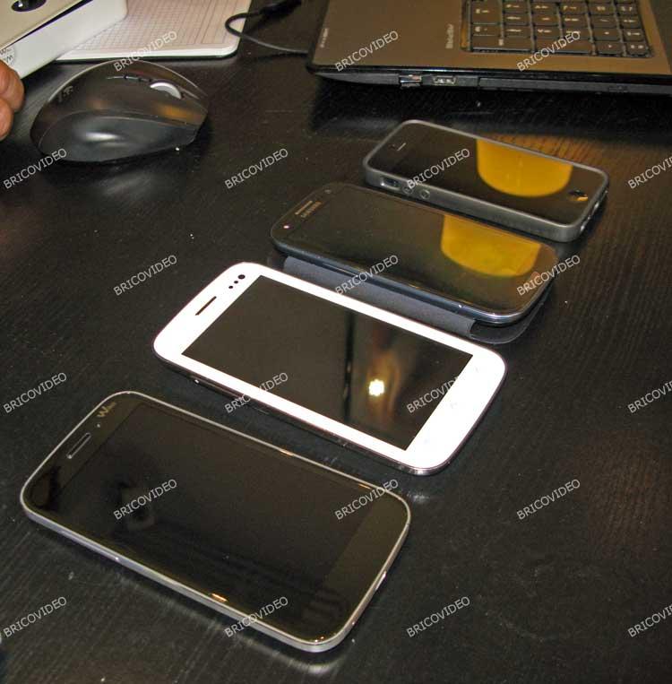 test comparatif smartphones