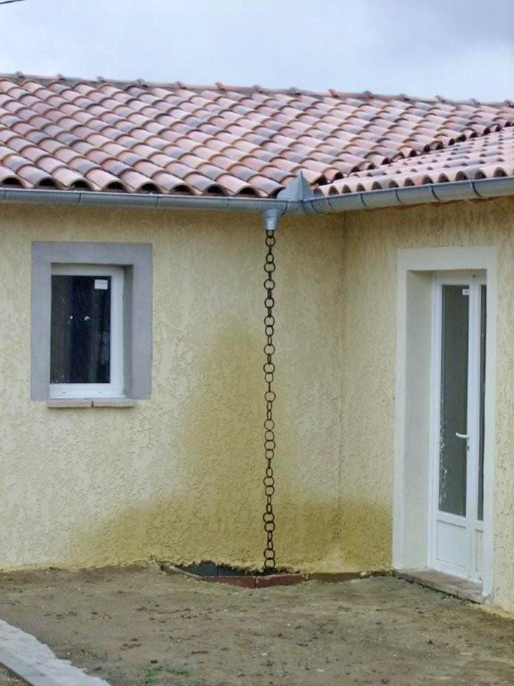 chaine eau pluviale
