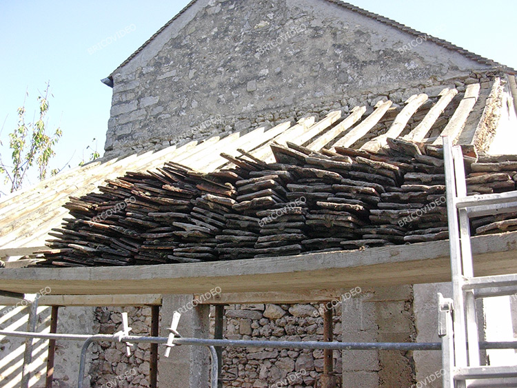 demontage toiture