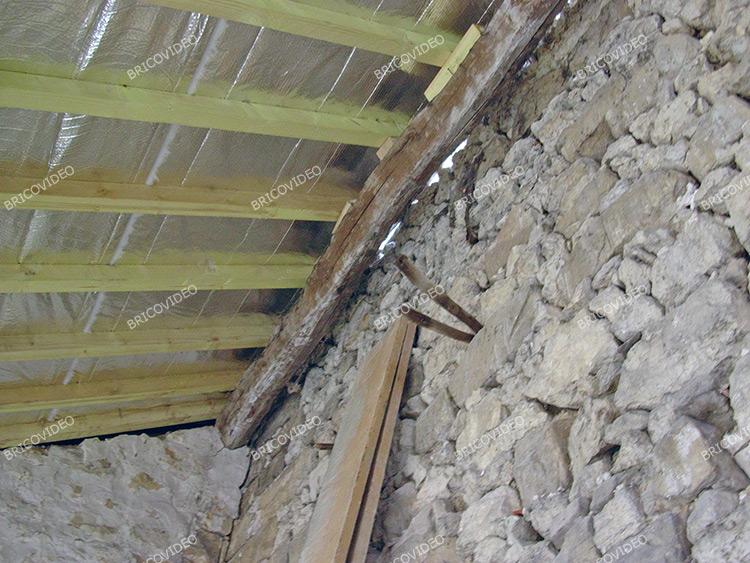 Conseils forum toiture rabouter des chevrons pour for Conseil isolation maison ancienne