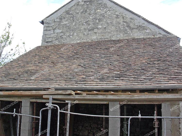 Conseils travaux toiture monter sur une toiture t le fibro ciment - Etancheite toiture tole fibro ciment ...