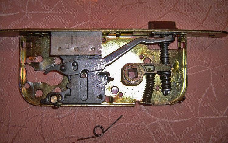 probleme mecanisme serrure bv0411